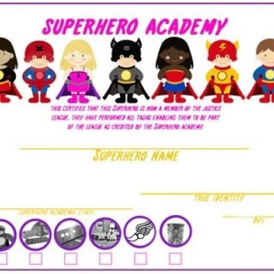 SuperHero Academy for Jenney.  Great activities and games!