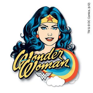 Wonder Woman WB Temporary Tattoo  Model # WB-WMAN-02 by ZoogSay on Etsy