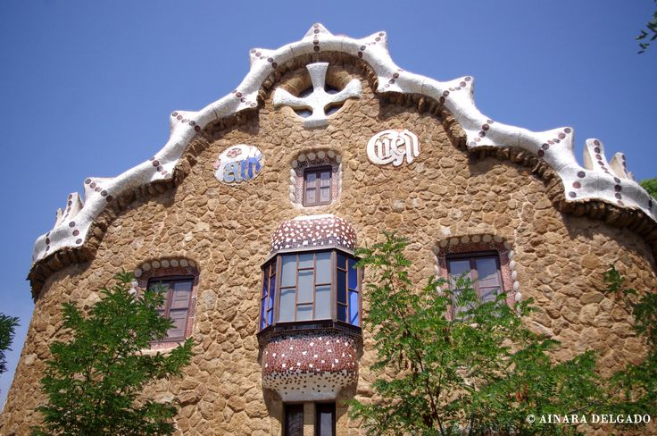 Casa del Guarda - Parque Güell - Barcelona 13-08-2015