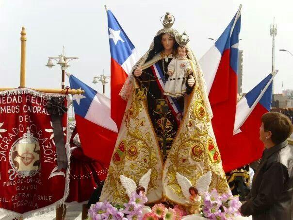 VIRGEN DEL CARMEN. PATRONA DE CHILE.