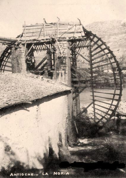 Antakya, Su dolabı (Noria)