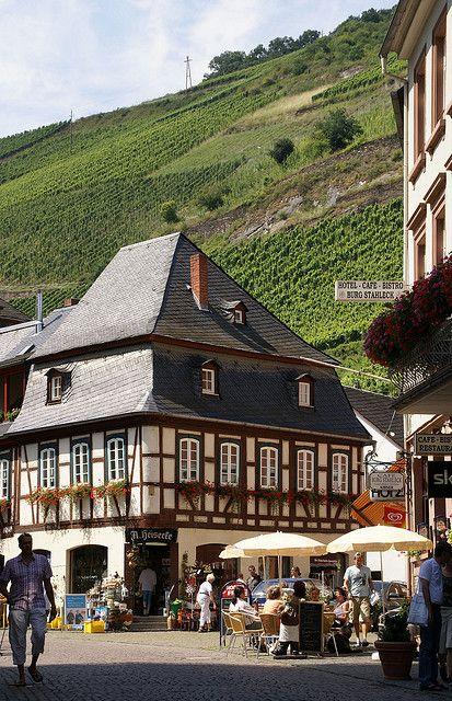 Bacharach, Germany   repinned by www.mybestgermanrecipes.com