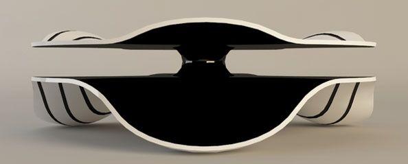 Desert Coffee Table Concept by Svilen Gamolov