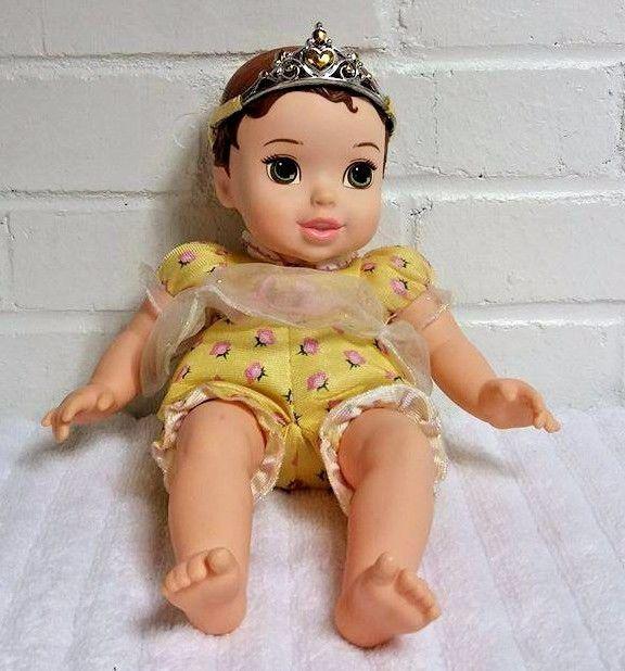Belle My First Disney Princess Baby Doll Plush Vinyl                       (A24) #Disney