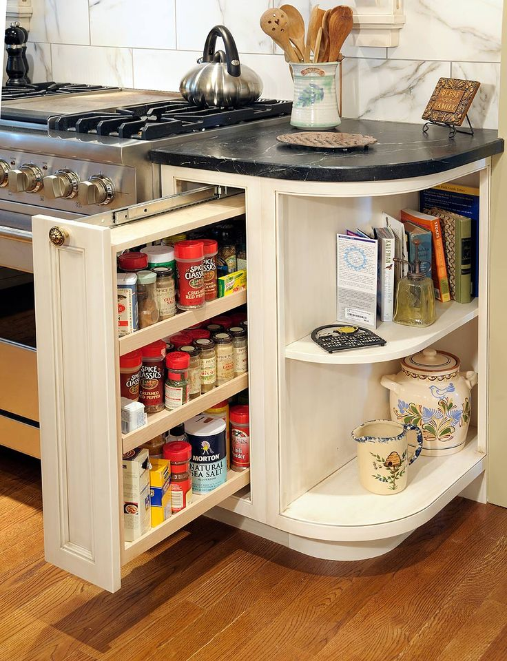 Beautiful Kitchen Cabinet Storage solutions