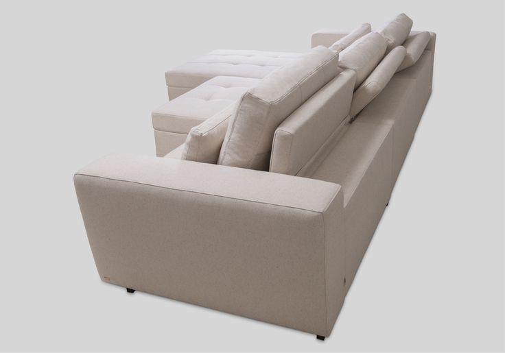 Sofás com alongadores, sofás com chaise longue, sofás com reclináveis, sofás home, sofás modulares / Burle - Bell'Arte
