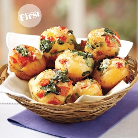 Spinach & Tomato Puffs | First for Women#.VJ2lncBHA#.VJ2lncBHA