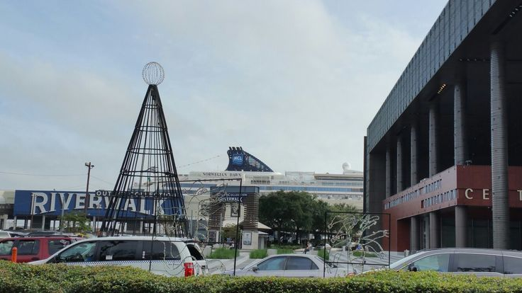 Riverwalk, outlet mall, attached to the   Port of New Orleans and the Convention Center.