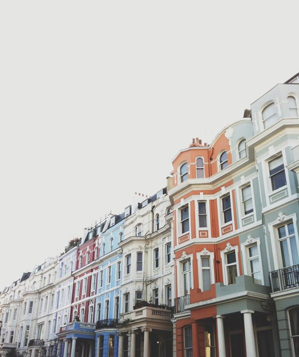 Notting Hill, London... @Kassidy Mather - Let's go back here for your birthday instead, mmmmmkay??