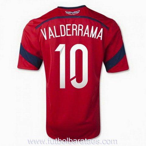 Nueva camiseta de Valderrama 2nd Colombia