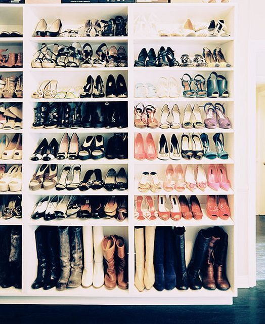 {decor : storage inspiration for the living room, closet & office} | Flickr - Photo Sharing!