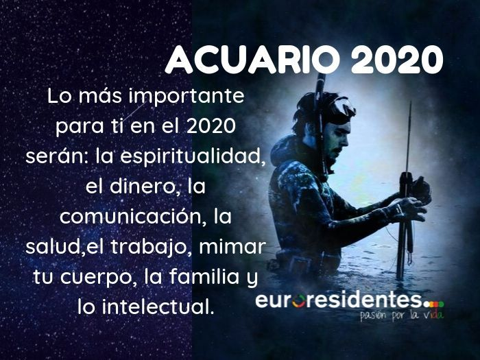 Acuario 2020 Acuario Sagitario Signos Del Zodiaco Acuario