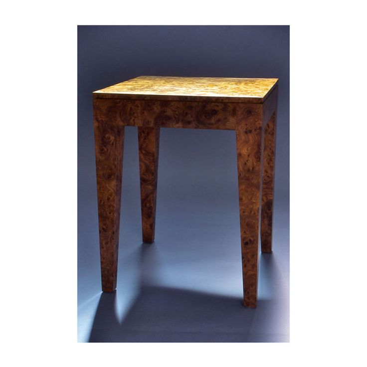 Burl Sidetable by Anton Gerner - bespoke contemporary furniture melbourne