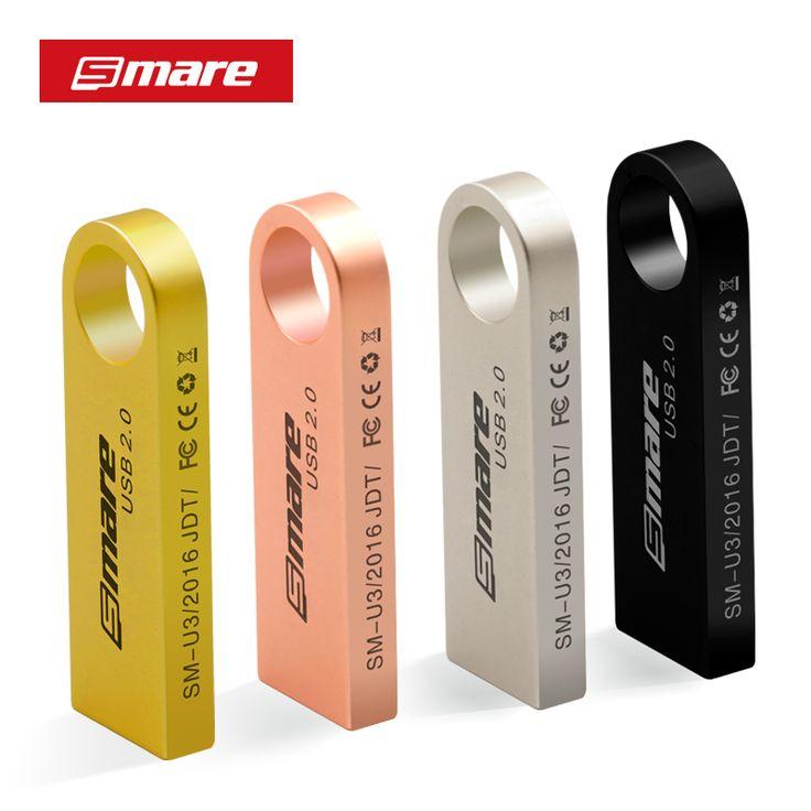 Smare u3 usb 플래시 드라이브 4 기가바이트/8 기가바이트/16gb32gb/64 기가바이트/128 기가바이트 펜 드라이브 pendrive usb 2.0 플래시 드라이브 메모리 스틱 usb 디스크 4 컬러