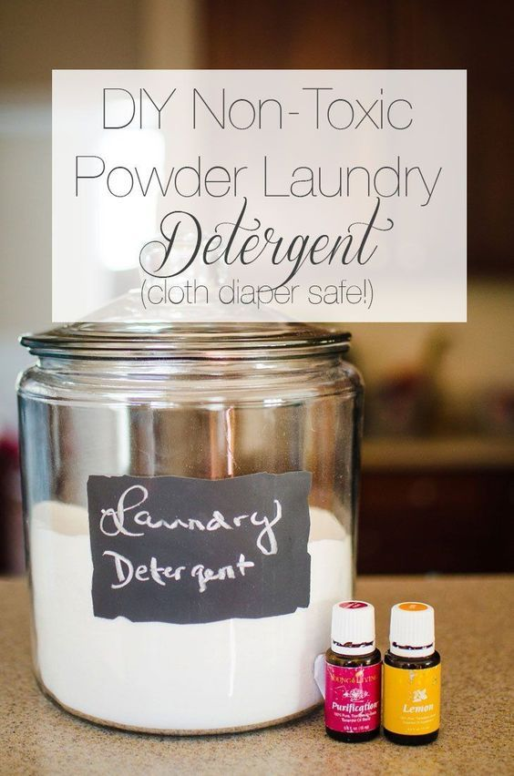 Diy Powder Laundry Detergent With Images Homemade Laundry