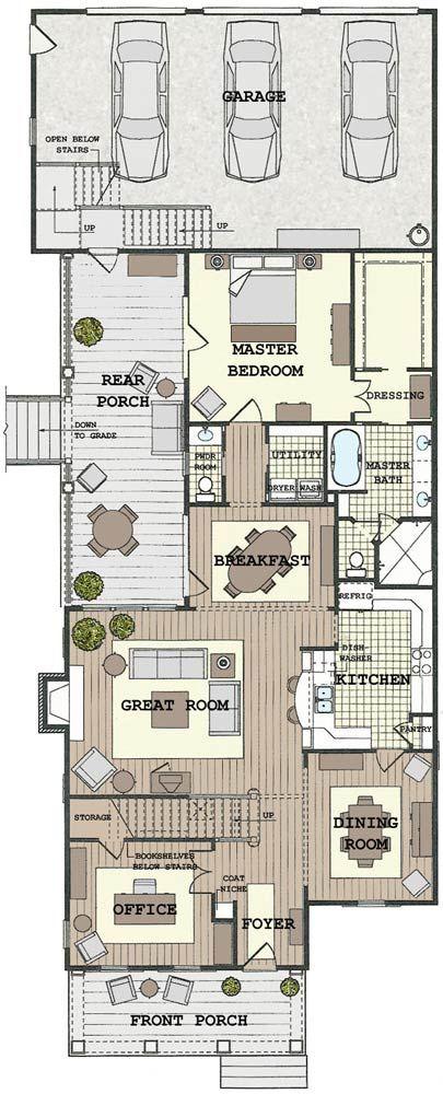 1142 best PLAN images on Pinterest House design, House floor plans - plan agrandissement maison gratuit