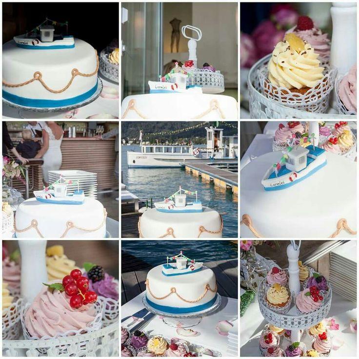 Hochzeitstorte Schiff ... Wedding Cake