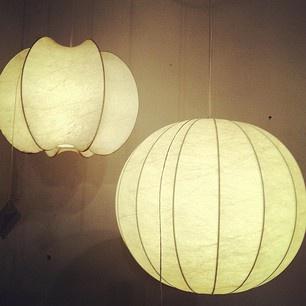 Danish mid century lighting