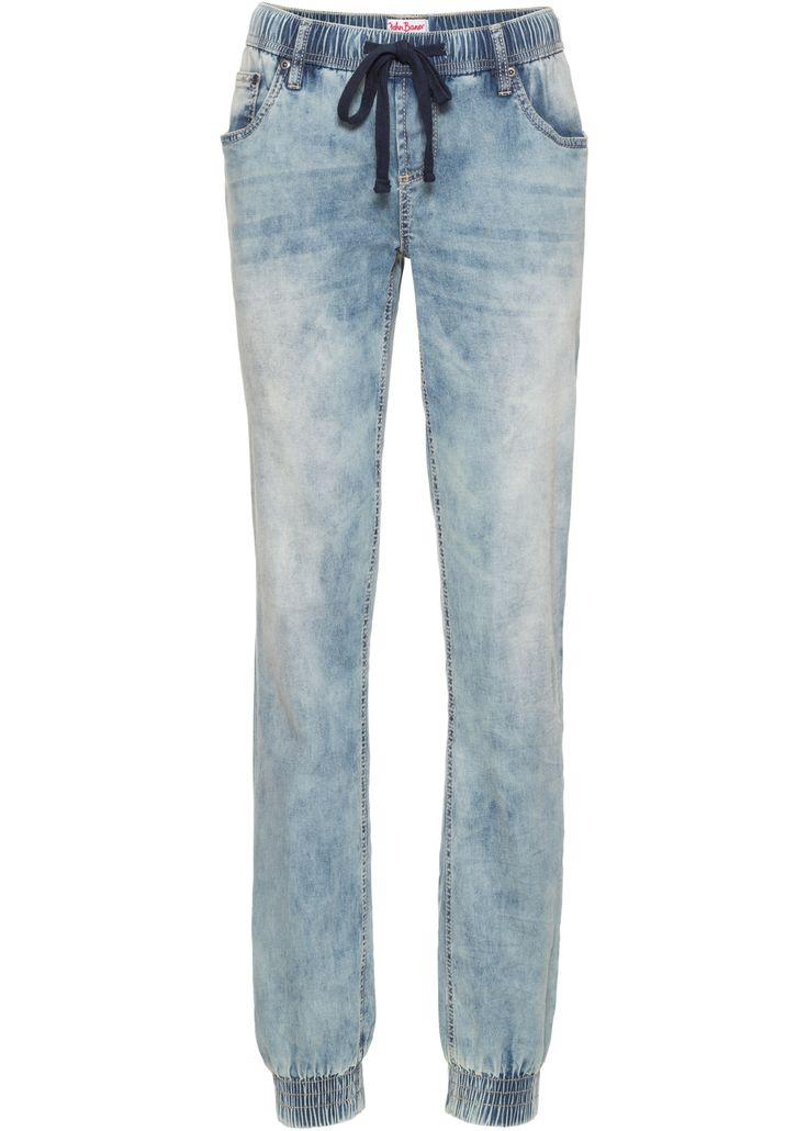 Strečové džíny bez zapínání COMFORT, John Baner JEANSWEAR