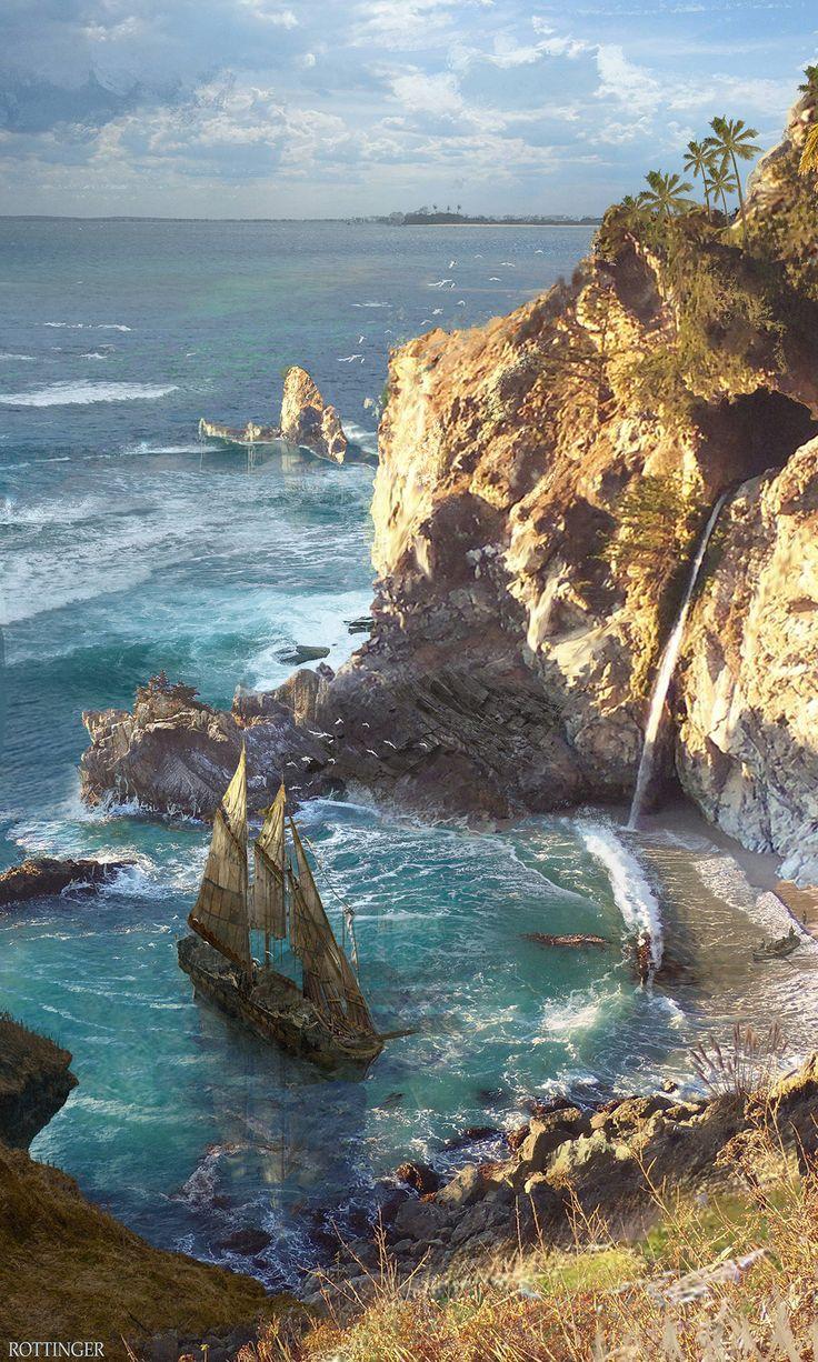 ArtStation - Secret Cove, Blake Rottinger