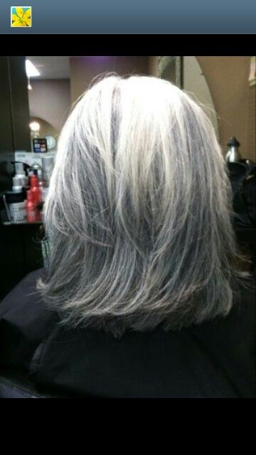 1000 Images About Hair Styles For Gray Hair On Pinterest