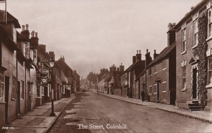 Warwickshire, Coleshill.