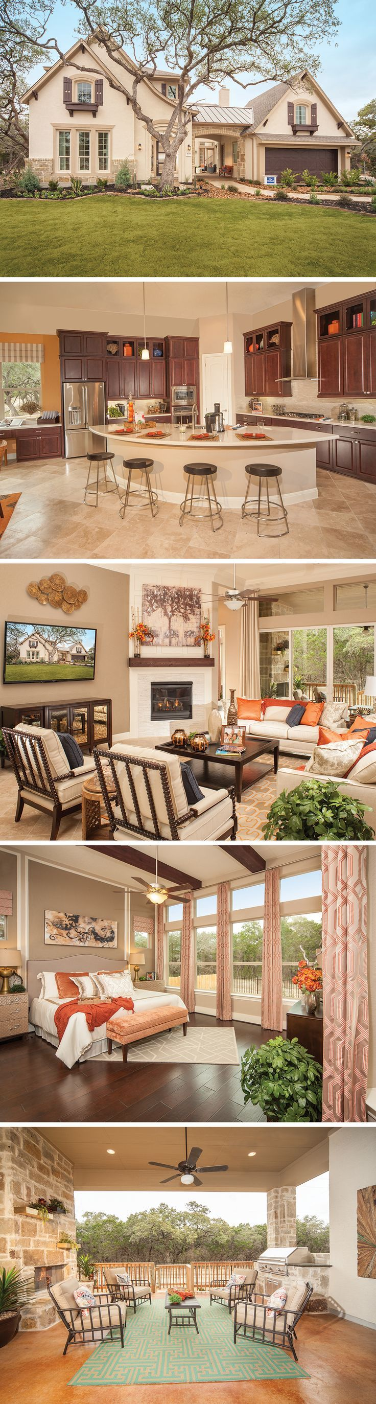 cool David Weekley Homes is now building award-winning homes like The Hillard in the ...