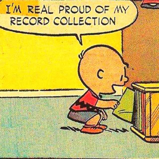 Have an extensive record collection