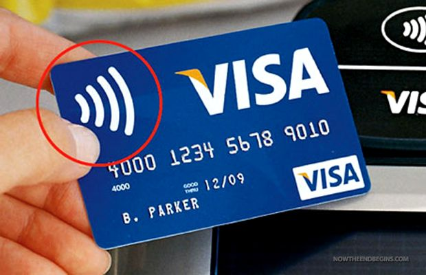 """ALL AMERICAN CREDIT CARDS WILL DISAPPEAR IN 2015 AND BE REPLACED WITH RFID TECHNOLOGY - The new EMV credit card system the U.S. is set to migrate to by October, 2015. Also going away is the ability to sign for your purchases, that will no longer be necessary. (Revelation 13:17 - """"And no man might buy or sell, save he that had the mark, or the name of the beast, or the number of his name."""")"""