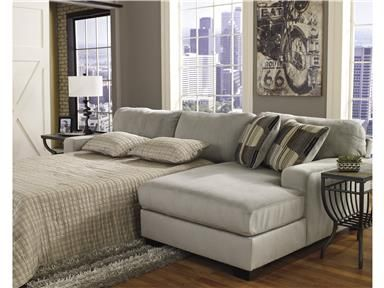 Westen Granite Left Arm Facing Chaise End Sleeper Sectional Category Living Room