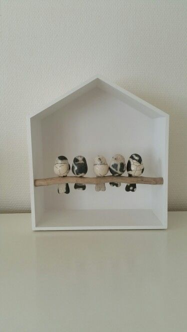 Vogeltjes, raku