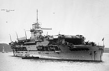 HMS Glorious was a Courageous-class fleet aircraft carrier of the British Royal Navy. (google.image) 10.17 (small picture)