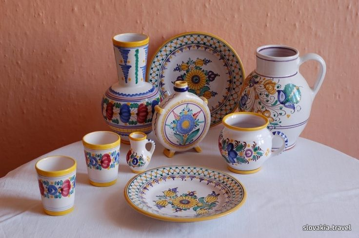 Manufacture of majolica in Modra