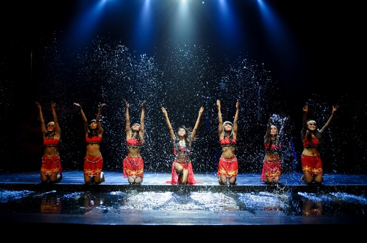 Devdan Show: Water plays a part in Devdan's Borneo segment
