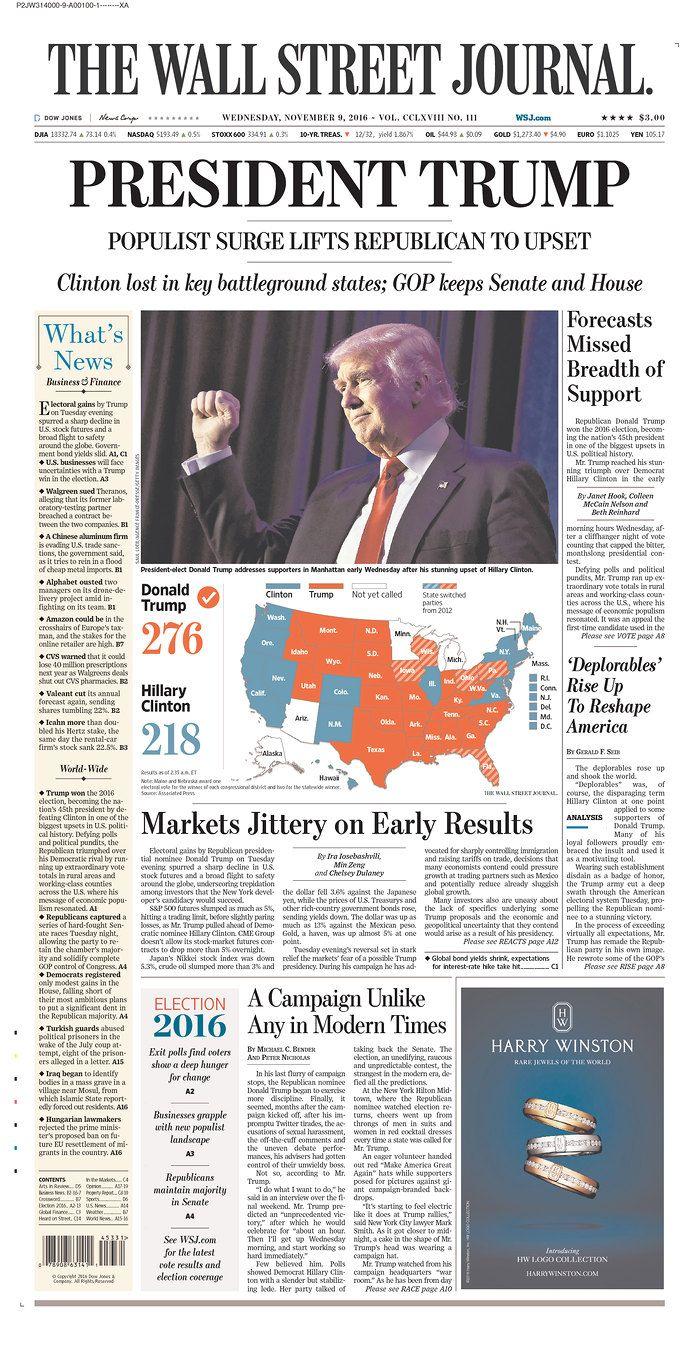 310 best newspaper headlines images on pinterest on wall street journal online id=61451