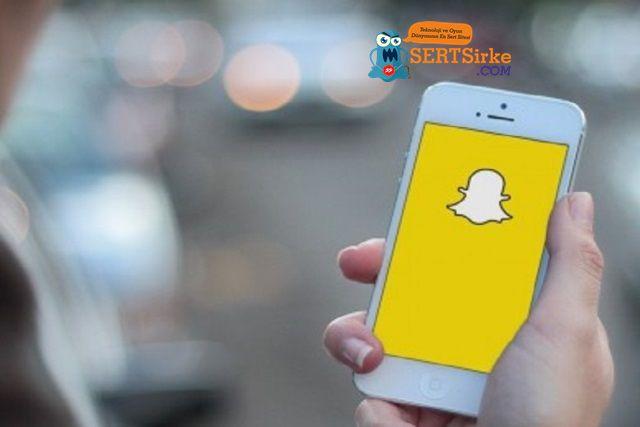 Snapchat'e Sesli Yayın Özelliği Ekleniyor