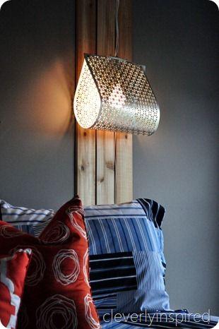 INSPIRÁCIÓK.HU Kreatív lakberendezési blog, dekoráció ötletek, lakberendező tanácsok: Kreatív hálószobai lámpa
