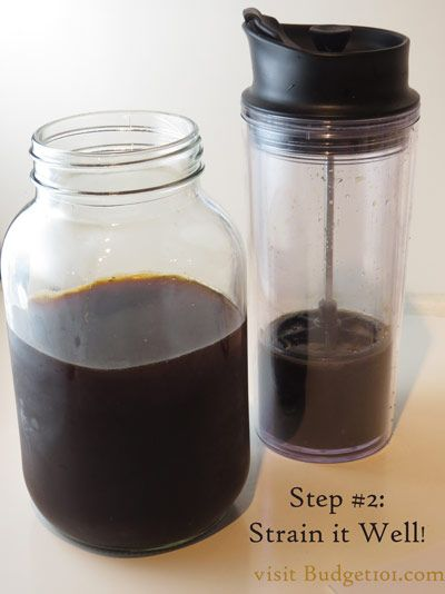 homemade coffee concentrate  make your own iced coffee