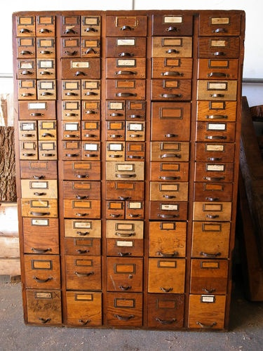 177 Best Card Catalog Files Repurposed Images On Pinterest
