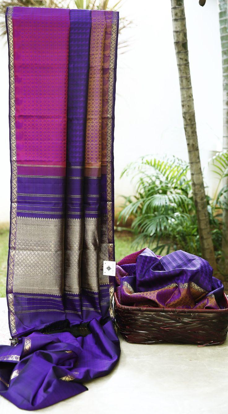Sister of the bride Kanchivaram Silk L01126 | Lakshmi