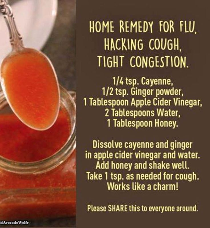 Home Remedy For Flu | Natural Way To Cure Flu Coughing Chest Congestion
