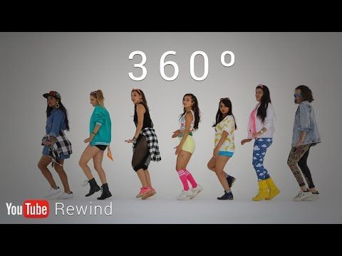 YouTube Rewind 2016: Epic Group Running Man Challenge in 360°  #YouTubeRewind - YouTube