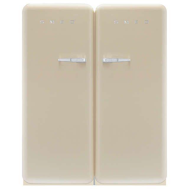 BuySmeg CVB20LP1 Tall Freezer, A+ Energy Rating, 60cm Wide, Left-hand Hinge Online at johnlewis.com
