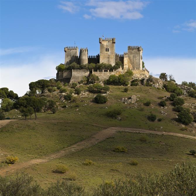 Córdoba -  Almodovar del Rio Castle.-