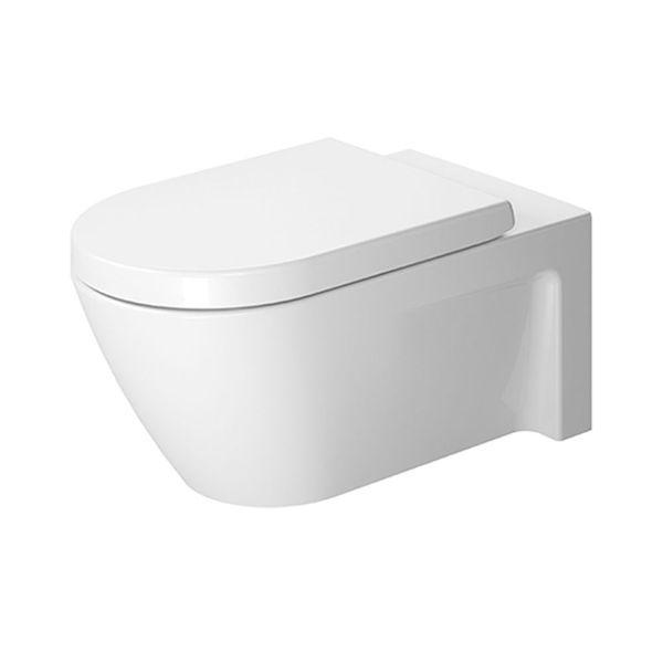 Duravit Starck 2 Wall-Mounted Pan 620mm | Wall-Mounted Toilets | CP Hart