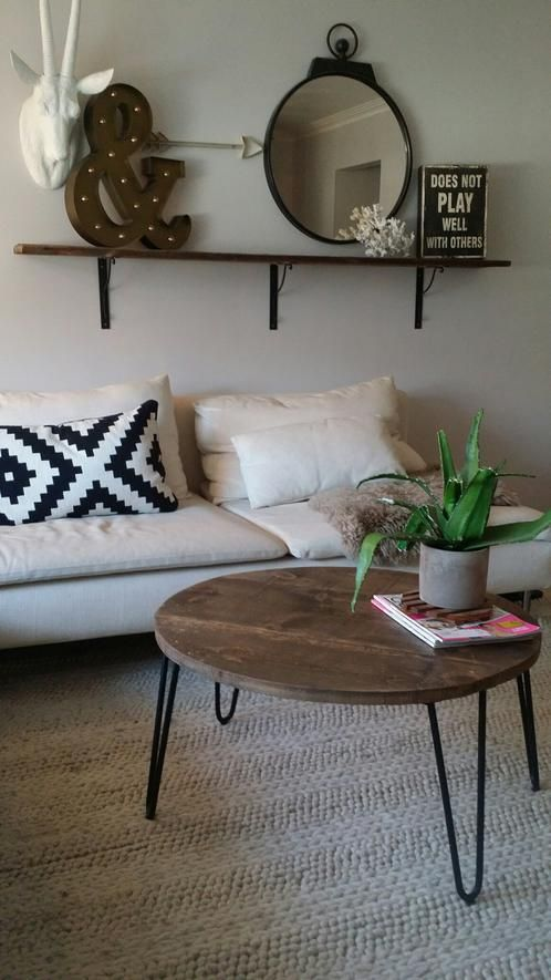 round coffee table with hairpin legs lg