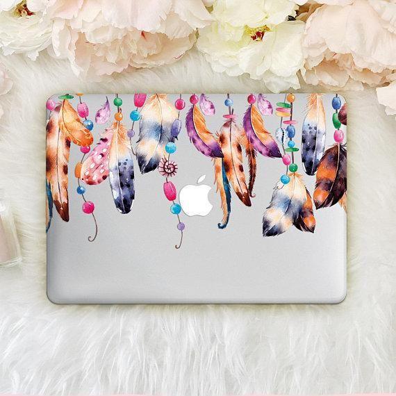 Feathers Macbook Pro Retina 15 Clear Case Macbook Air 13 2018 Case Dreamcatcher Macbook 12 Around Ke