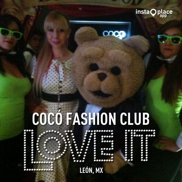 Con Ted en @Cocó Club