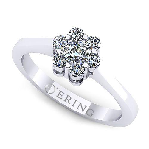 Inel logodna L51ADI Inel cu diamante