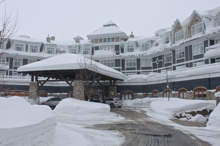 JW Marriott Muskoka, Lake Rosseau, Ontario, Winter